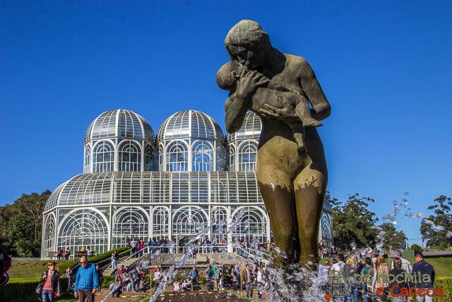 O que fazer em Curitiba - Jardim Botânico de Curitiba