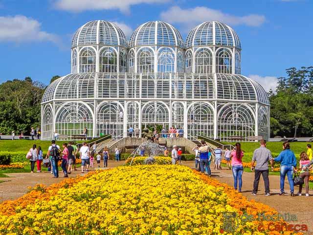 O que fazer em Curitiba - Jardim Botânico de Curitiba- Flores