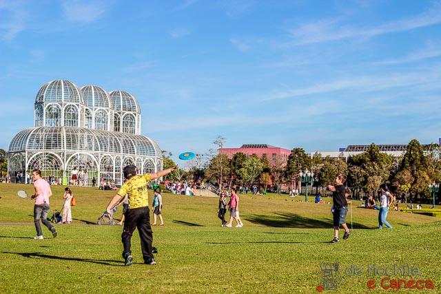 Jardim Botânico de Curitiba-Brincadeira