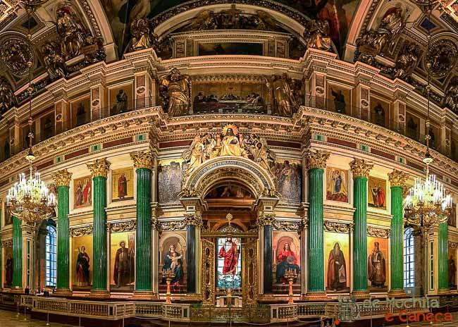 Catedral de São Isaac -Iconostásio