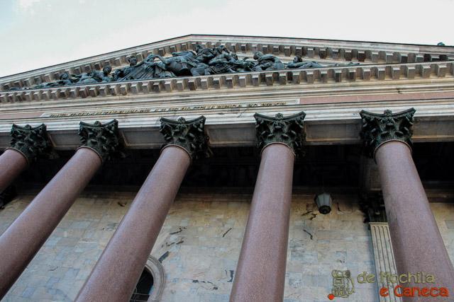 Catedral de São Isaac - Russia-Colunas
