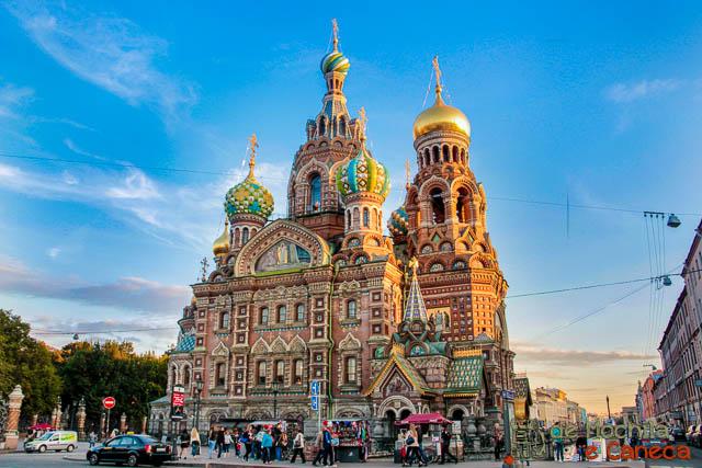Catedral do Sangue Derramado - São Petersburgo - Rússia