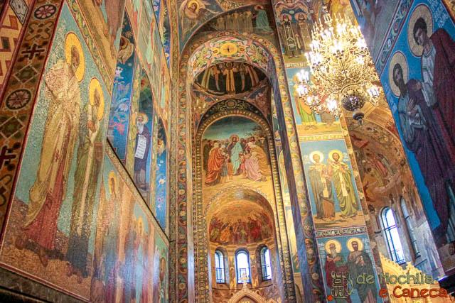 Catedral do Sangue Derramado-Mosaicos