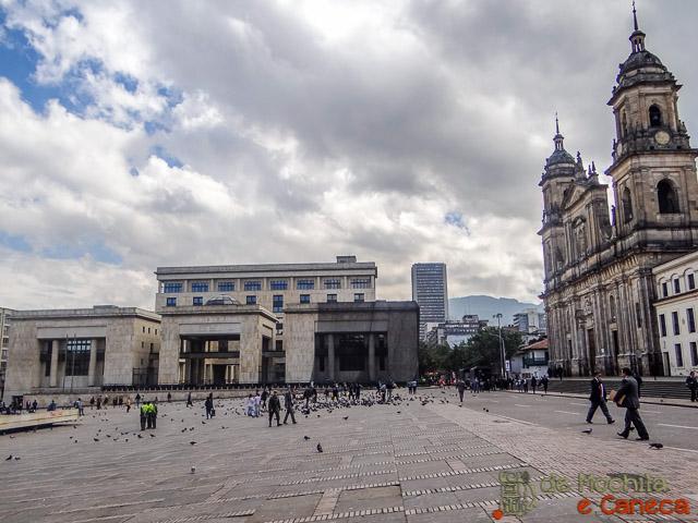 Centro Histórico de Bogotá-Plaza Bolivar