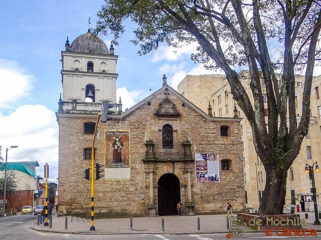 Centro Histórico de Bogotá-Igreja de San Agostin