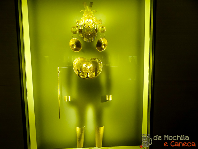 Museu do ouro de Bogotá-Sombra