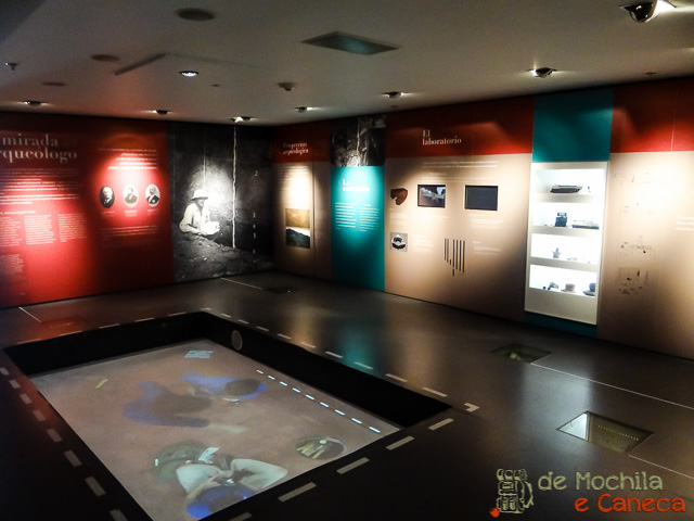 Museu do ouro de Bogotá-Salas