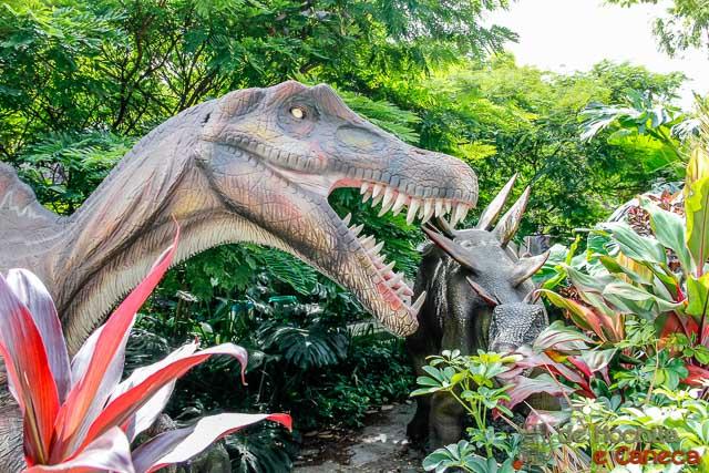 Parque Explora em Medellin- Parque dos Dinossauros.