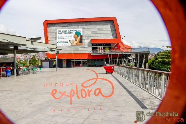 Parque Explora em Medellin