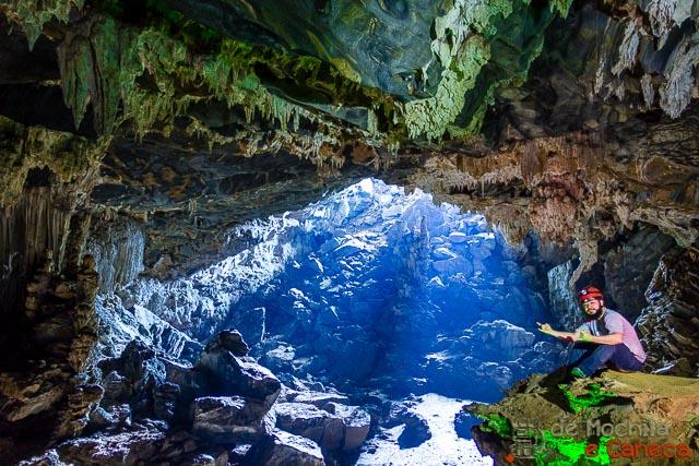Roteiro no Petar-Cavernas