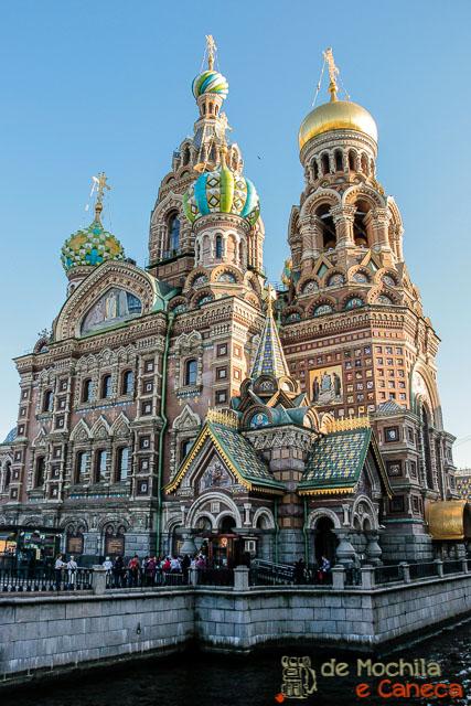 5 igrejas para conhecer na Rússia-Catedral do Sangue Derramado