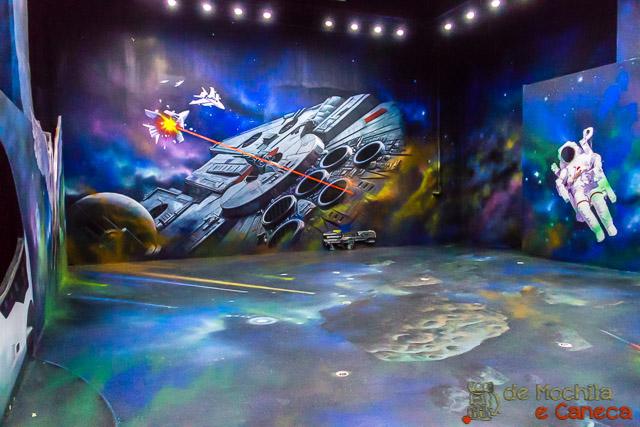 Museu 3d em Ciudad del Este- Guerra nas estrelas