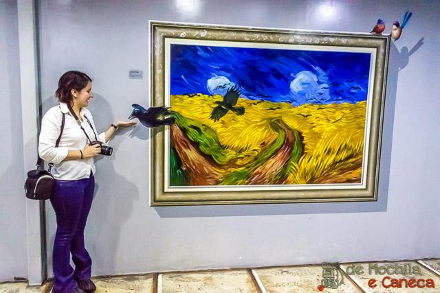 Museu 3d em Ciudad del Este- Van Gogh