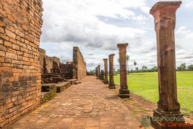 Roteiro no Paraguai-Ruínas Jesuíticas de Jesús de Tavarangue
