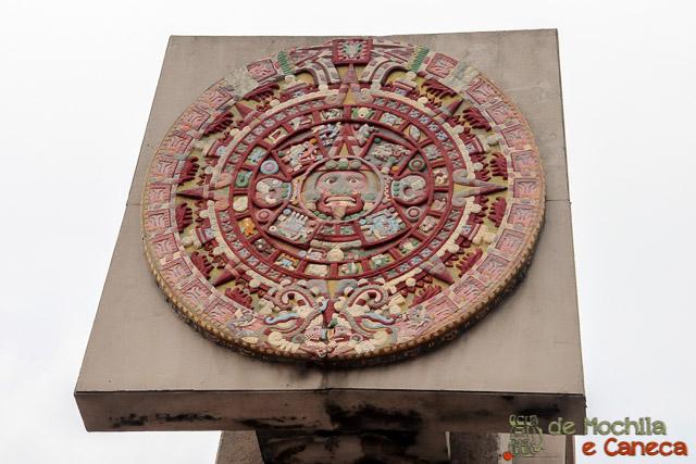 Basílica Nossa Senhora de Guadalupe-Calendário Azteca