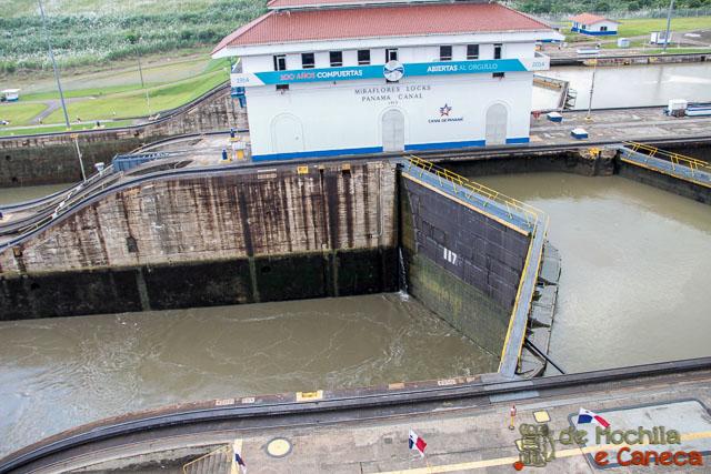 Canal do Panamá-MIraflores