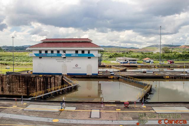 Canal do Panamá-Eclusa de Miraflores