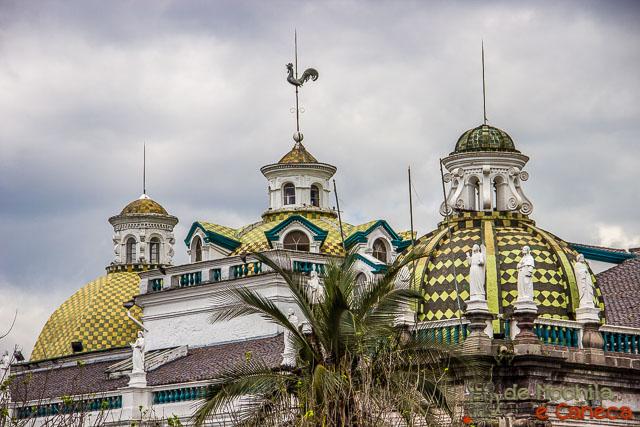 Free Walking Tour em Quito-Palácio de Carondelet - sede do governo do Equador.