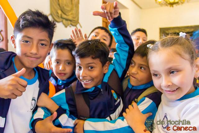Free Walking Tour em Quito-Crianças do Equador