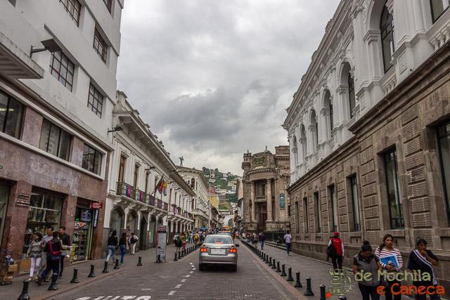 Free Walking Tour em Quito-Calle de las Cruces