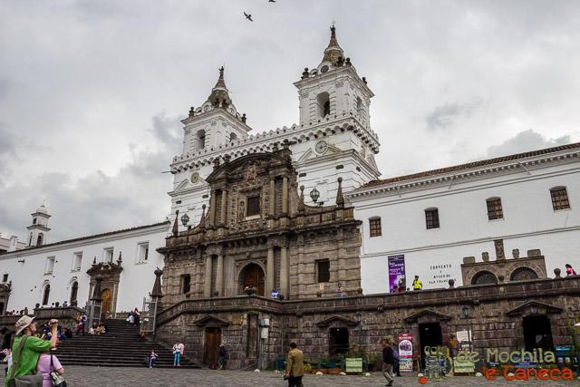 Free Walking Tour em Quito-Igreja de São Francisco