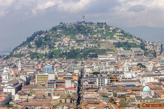 Free Walking Tour em Quito- Vista da cidade de Quito