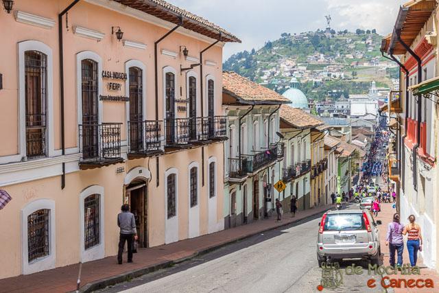 Free Walking Tour em Quito-Calledelas7cruzes