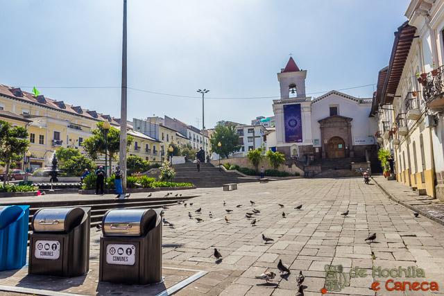 Free Walking Tour em Quito - Plaza San Blás