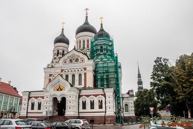 Centro Histórico de Tallinn-Catedral Ortodoxa Alexander Nevsky-Talin