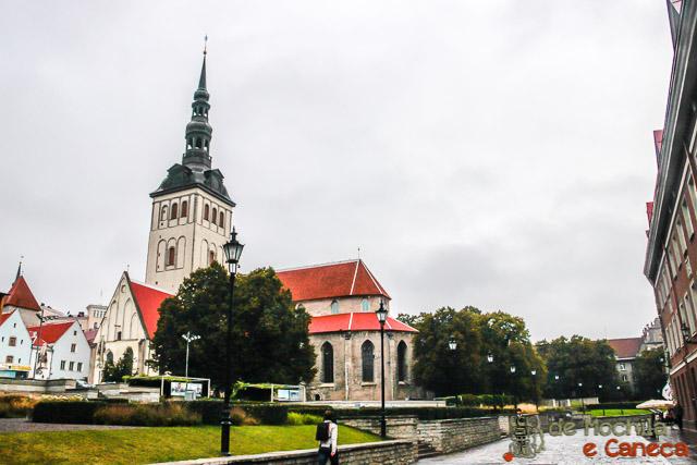 Centro Histórico de Tallinn-Igreja e Museu de São Nicolau-Talin