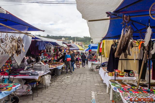 Otavalo Equador-Feira de Otavalo