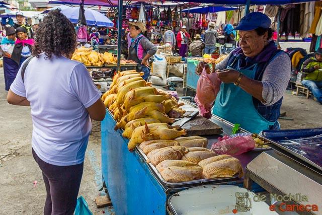 Otavalo Equador-Frango!
