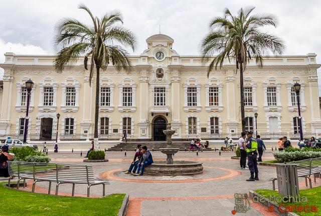 Otavalo Equador-municipalidad