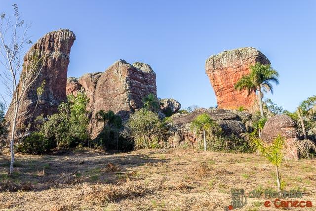 Parque Estadual de Vila Velha-Arenitos