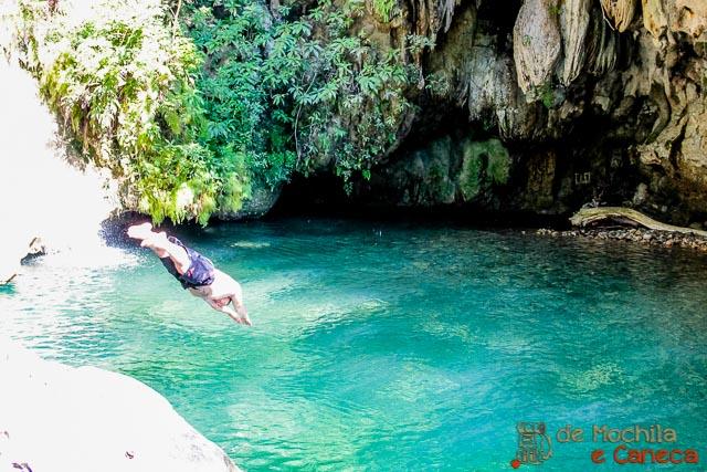Salto del Caburní-Trinidad - Cuba - mergulho