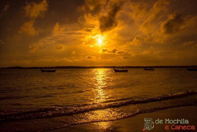 Ilha de Superagui-pôr do sol.