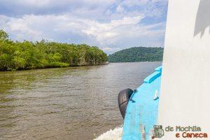 Ilha de Superagui-Trajeto