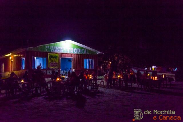 Ilha de Superagui-Restaurante Tropical
