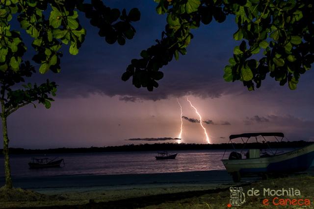 Ilha de Superagui-chuva