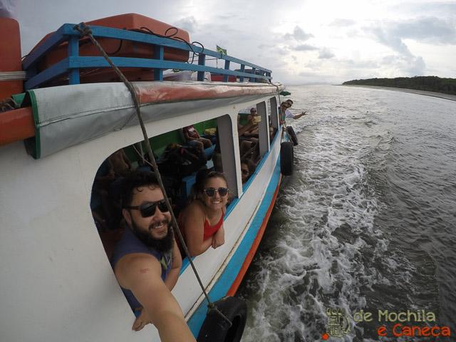 Ilha de Superagui-Barco