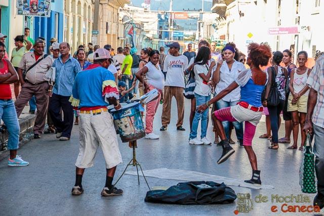 Santiago de Cuba- Arte de rua.