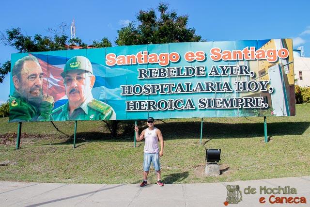 Santiago de Cuba-Santiago de Cuba - Berço da Revolução Cubana.