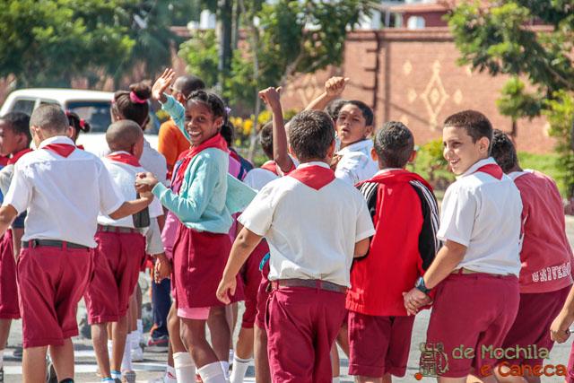 Santiago de Cuba-escola