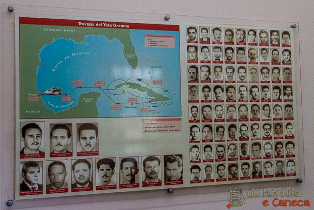Santiago de Cuba-Iate Gramma.