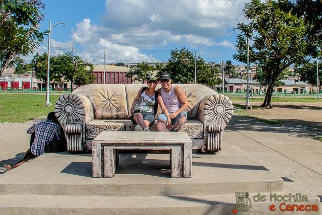Santiago de Cuba-Parque Alameda.
