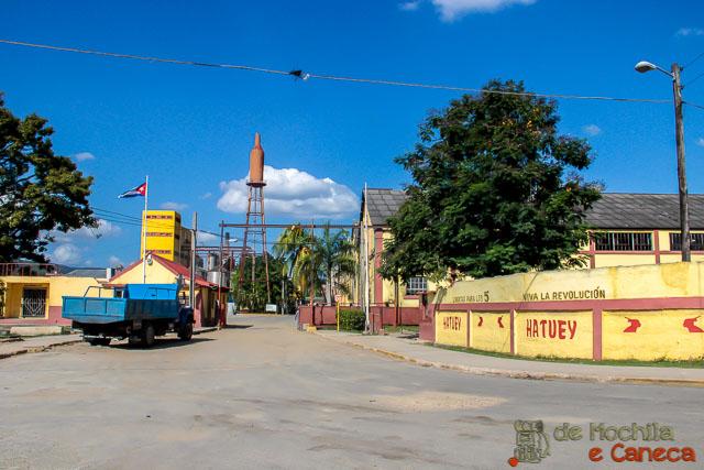 Santiago de Cuba-Fábrica da cerveja cubana Hatuey.