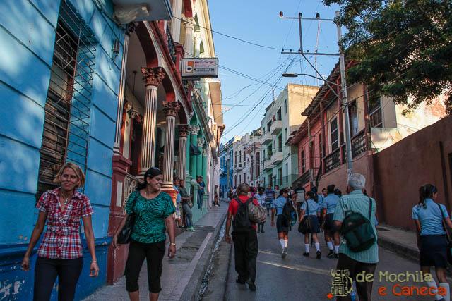 Santiago de Cuba-Calle José Antonio Saco