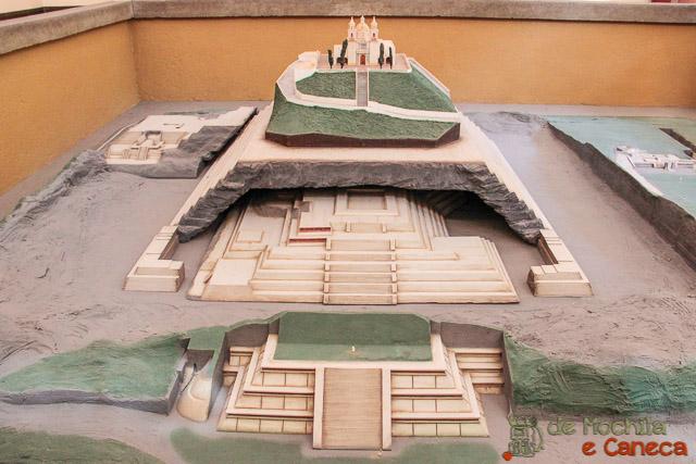 Grande Piramide de Cholula-maquete