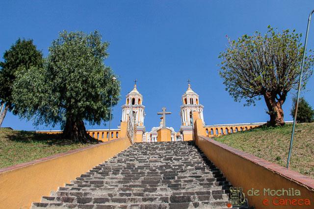 Grande Piramide de Cholula-Igreja_Santuario de Nuestra Señora de los Remedios