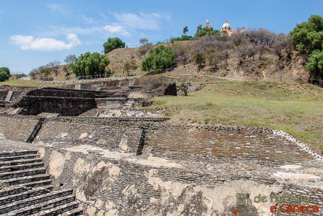 Grande Piramide de Cholula-México_puebla